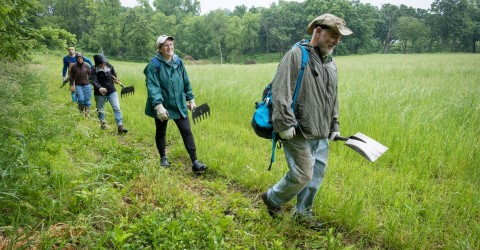 Ice Age Trail Alliance Trail-building Volunteers