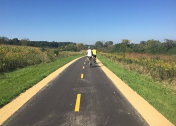 Capital City Trail - After pavement restoration