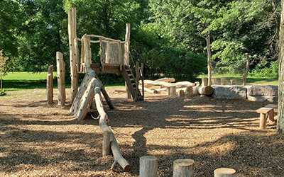 New Natural Playground is Complete